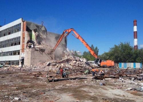Снос и демонтаж промышленных зданий и сооружений